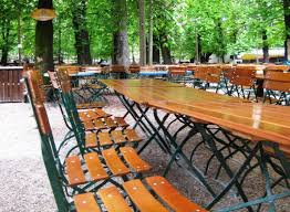 German Beer Garden Table by 10 Garden Ideas To Steal From Germany Gardenista