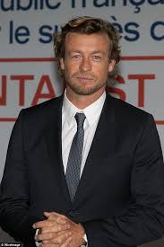 blond hair actor in the mentalist simon baker attends photo call for the mentalist in france daily