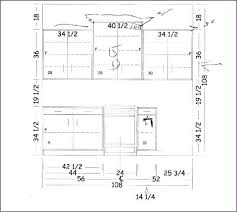 Standard Height For Kitchen Cabinets Interior Various Furniture Hieghts In Standard Counter Height