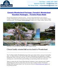 canada package canada s vacation packages to
