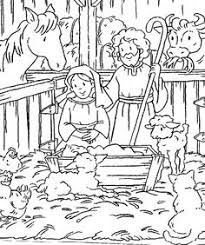 100 ideas printable religious christmas coloring pages