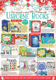 the 2015 usborne books at home christmas leaflet has arrived