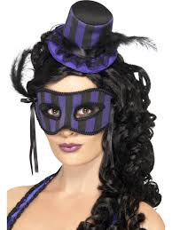 grotesque burlesque hat and eyemask jpg