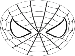 printable 14 spiderman logo coloring pages 8989 batman mask