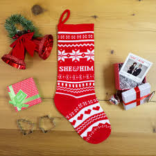 she u0026 him knit christmas stocking she u0026 him official storefront