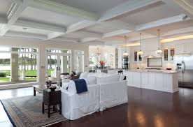 open floor plan kitchen and living room living room decor