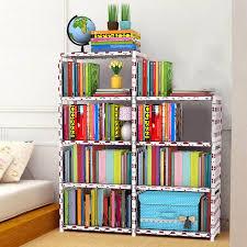 book storage kids space saving closet storage rack diy home books storage rack kids