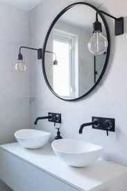 Best 25 Black Marble Tile by Round Bathroom Mirrors Best 25 Round Bathroom Mirror Ideas On