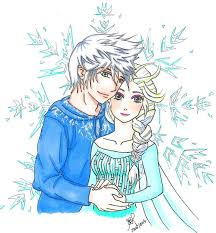 jack and elsa made to be together color by signsamanta on
