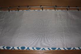 Making Blackout Curtains Msb Table Runner Into Window Valance U0026 Throw Pillow U2014 Once