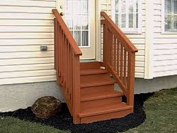 outdoor stair railing wood unique shaped decoration fence