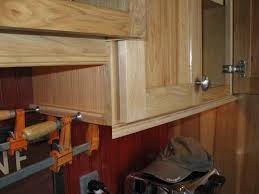 cabinet how to install molding on kitchen cabinets crown kitchen