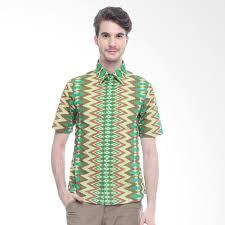 Batik Bateeq harga bateeq rang rang slim fit shirt 15 351 batik pria green