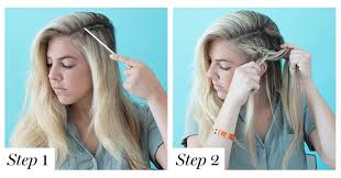 hair braid across back of head how to braid hair 8 cute diy hairstyles for every hair type glamour