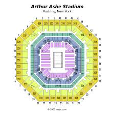 map us open arthur ashe stadium arthur ashe stadium seating chart arthur