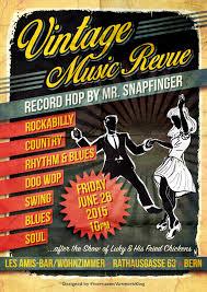 Bar Wohnzimmer Les Amis Mr Snapfinger Rockabilly Dj