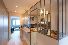 atelier de la cuisine verri re d int rieur pour cuisine c t maison avec verriere