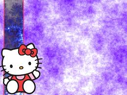 wallpaper hello kitty violet blue hello kitty cloud background wallpaper by alishajenkinsx on
