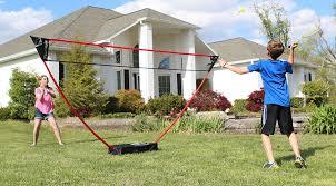 Backyard Set Badminton The Portable Instant Badminton Set Zume Games
