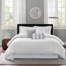 Twin White Comforter Set Home Essence Cullen Bedding Comforter Set Walmart Com