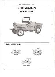 jeep vehicles list 1962 65 jeep parts list dj 3a cj3b cj5 cj6 surrey gala u2013 jeep surrey