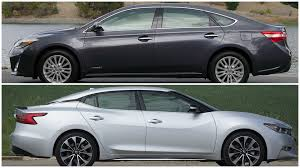 2016 nissan maxima youtube 2016 nissan maxima vs toyota avalon youtube