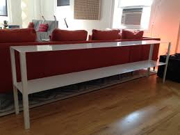 long skinny console table beautiful skinny sofale photo concept vintage in creamy white scheme