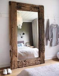 Wood Mirror Frame Upcycling Design Mirrors Framed With Reclaimed Wood Frame