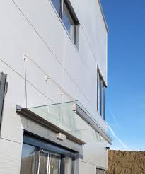 glass door canopies front doors print glass canopy over front door 7 glass canopy