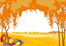 thanksgiving clip art border landscape clipart thanksgiving pencil and in color landscape