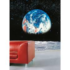 komar 106 in x 153 in earth moon wall mural 8 019 the home depot earth moon wall mural