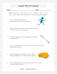 imperial to metric conversion worksheets lengthwordproblemsconversionp5 1 big gif