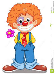 cute clown stock illustration image of makeup flower 14717709