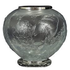 Vase French Erte Flowers Among Flowers Urn Vase French Crystal Le 170