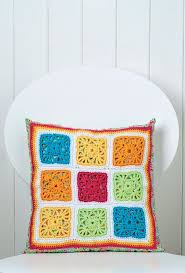 Free Cushion Crochet Patterns 113 Best Granny Square Patterns Images On Pinterest Granny