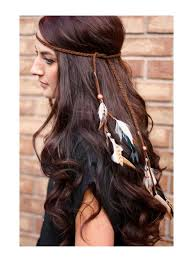 american indian hairstyles feather headband indian headdress native by kelseysfeathers