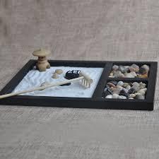 make wooden craft zen garden decoration resin figurine