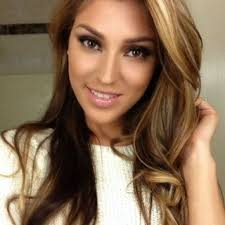 brown long hair colro with highlights brown hair highlights and