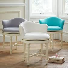 vanity chair with skirt minnie vanity stool pbteen