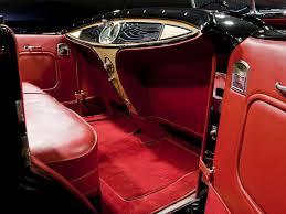 interior 1930 cadillac v16 452 sport phaeton by fleetwood 4260