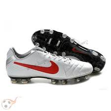 buy boots football buy nike tiempo legend iv elite fg white silver football boots