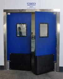 Cafe Swinging Doors Commercial Impact Traffic Doors For Restaurant Door And