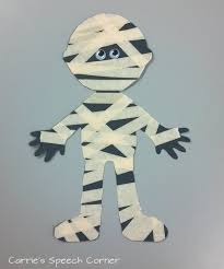 Mummy Crafts For Kids - carrie u0027s speech corner book of the week skeleton meets the mummy