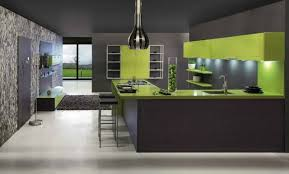 deco cuisine grise et cuisines cuisine gris vert idee deco cuisine blanc moderne