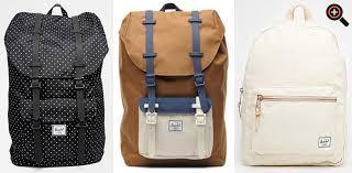 designer rucksack damen herschel rucksack damen herren canvas leder retro