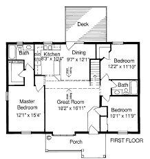 floor plans for one homes house plan 97711 at familyhomeplans com