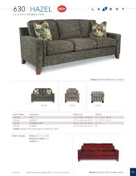 La Z Boy Maverick Mahogany by La Z Boy Hazel Premier Stationary Sofa U2013 Ferguson Furniture