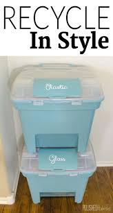 decorative recycling containers for home decorative recycle bins best decoration ideas for you