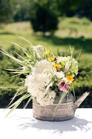 Garden Wedding Decor Ideas 18 Awesome Rustic Country Wedding Ideas To Use Watering Cans
