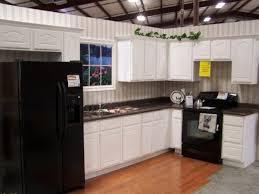 Kitchen Design Black Appliances Kitchens With Black Appliances White Cabinet Black Countertop And